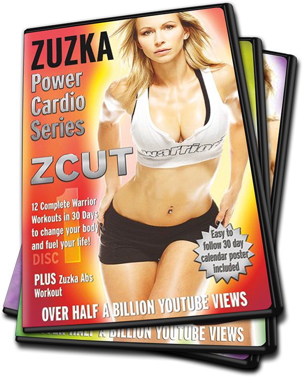 ZCUT Power Cardio DVD Series - Zuzka Light