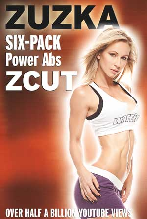 ZCUT Six-Pack Power Abs DVD - Zuzka Light